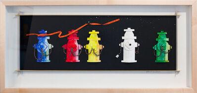 Katharine Owens, 'Five Fire Hydrants ', 2012