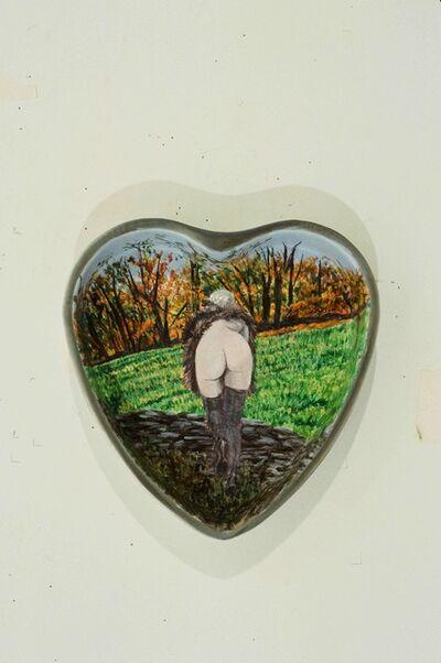 Betty Tompkins, 'Hearts', 2000