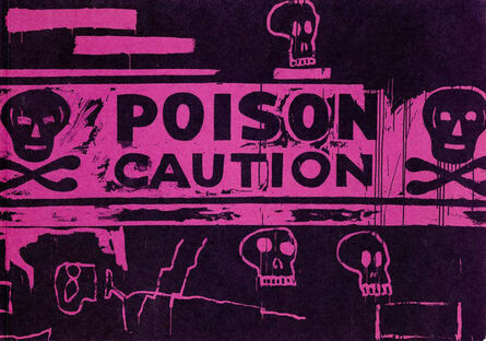 Andy Warhol, 'Warhol Basquiat Collaborations exhibition catalog (London)', 1988