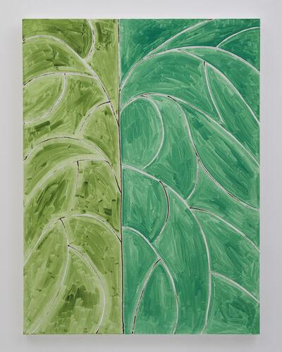 Benjamin Butler, 'Green Tree (Two-Tone) ', 2019