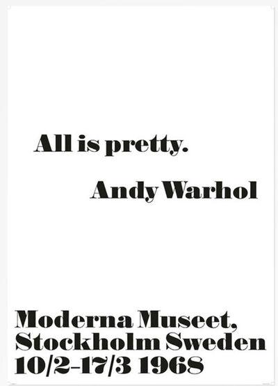 Andy Warhol, 'All is Pretty', 2014