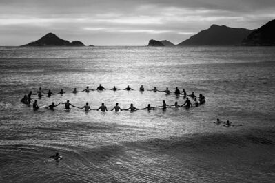 Olaf Heine, 'Paddle Out', 2013