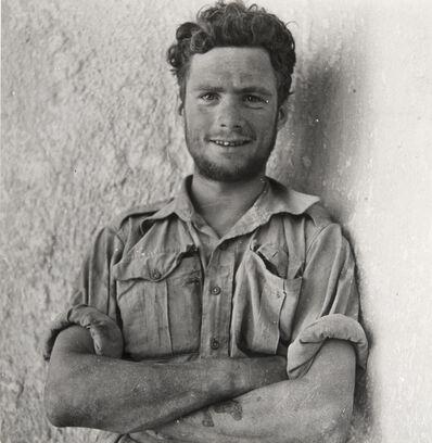 Cecil Beaton, 'A Member of Y-Patrol of the Long-Range Desert Group, SIWA Oasis, Wesetern Desert, Egypt', 1942