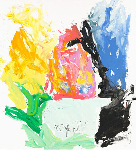 Georg Baselitz, 'Licht wil raum mecht hern (Lef el rial bel)', 2013