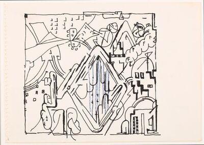 Eduardo Paolozzi, 'Two untitled drawings'