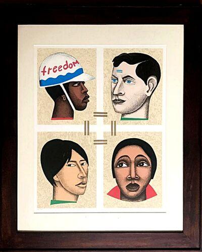 Elizabeth Catlett, 'Freedom or Slavery ', 1998