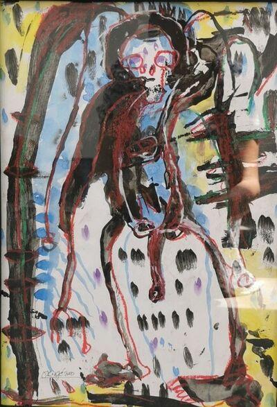 Obodje, 'Apprentissage de la forêt 2', 2020