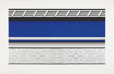 Roy Lichtenstein, 'Entablature V, from Entablature series', 1976
