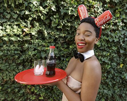 Tony Gum, 'Black Coca-Cola Series - Bunny Girl', 2015