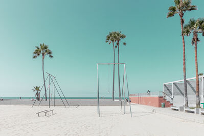 Ludwig Favre, 'Venice Beach Gym', 2020