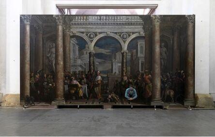 Luca Pozzi, 'Supersymmetricpartner,Convito in casa di Levi,HaeredesPauli,presso il monastero di San Francesco al corso, Verona', 2014