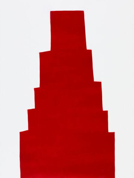 William Carroll, 'RED 60', 2018