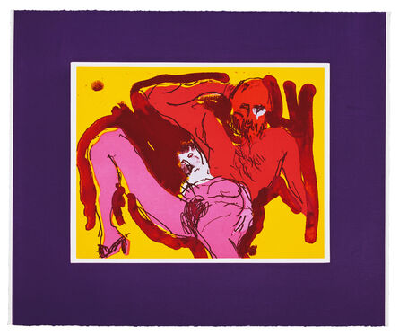 Malcolm Morley, 'Eve Born of Adam', 1987