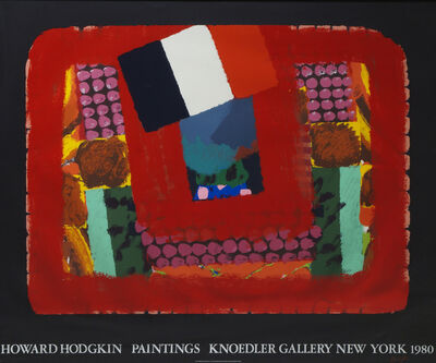 Howard Hodgkin, 'In A French Restaurant', 1982