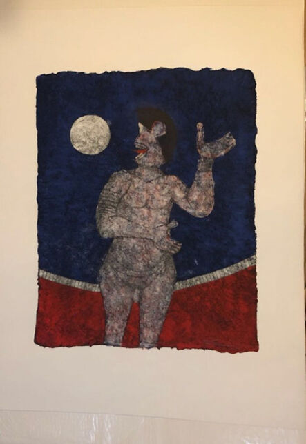 Rufino Tamayo, 'Full moon', 1989