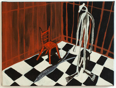 Mia Boe, 'Room with the Red Chair', 2021