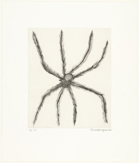Louise Bourgeois, 'Hairy Spider', 2001