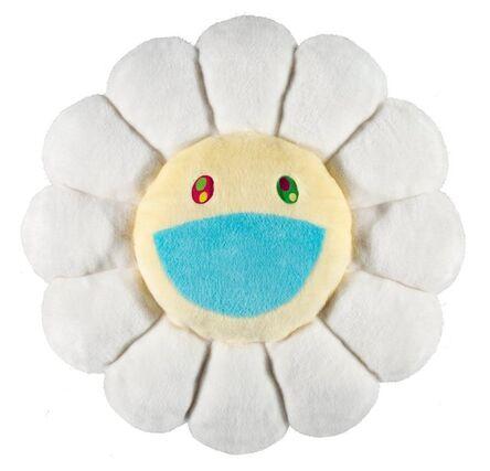 Takashi Murakami, 'Flower Cushion (White)'