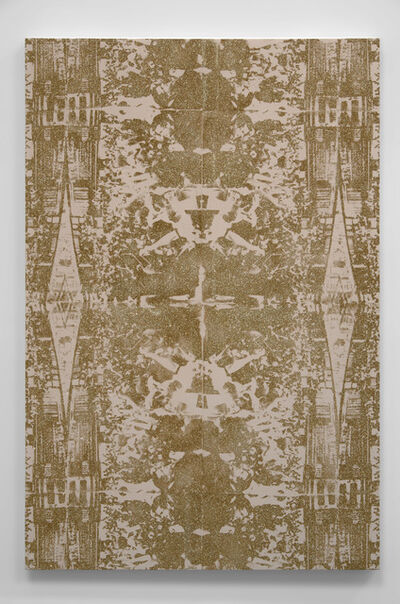 Abdul Mazid, 'Untitled (CBOE in Gold)', 2015