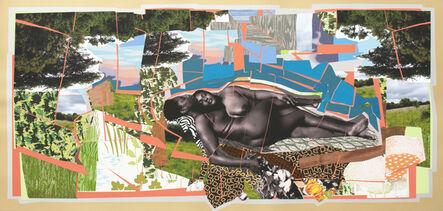 Mickalene Thomas, 'Sleep: Deux Femmes Noires', 2013