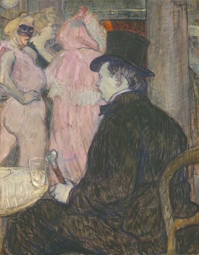 Henri de Toulouse-Lautrec, 'Maxime Dethomas', 1896