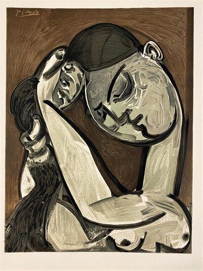 Pablo Picasso, 'Femme se coiffant 1955', 1975