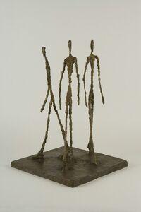 Alberto Giacometti, 'Three Men Walking', 1948