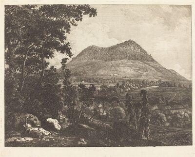 Christoph Nathe, 'Landeskrone Mountain near Görlitz', ca. 1795