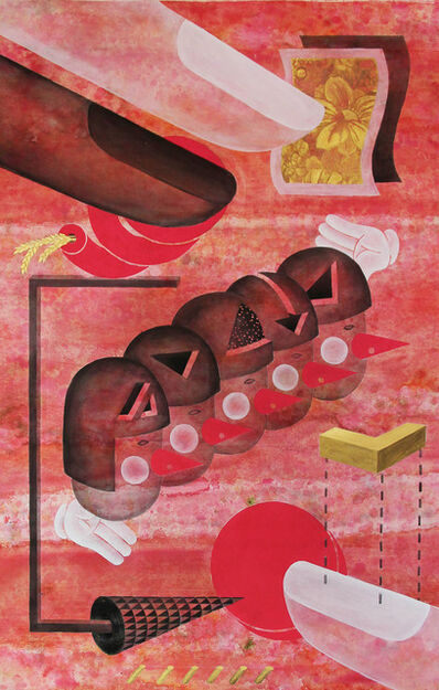 Jen Liu, 'The Pink Detachment: Principle of Plenty for All', 2016
