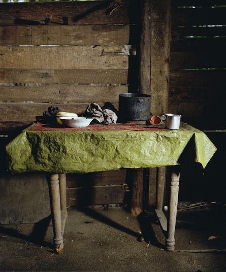 Andres Serrano, 'Green Table Cloth. Playa Duaba, Baracoa (Cuba) ', 2012