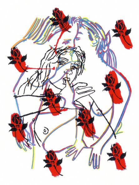 Ghada Amer, 'The Roses', 2002