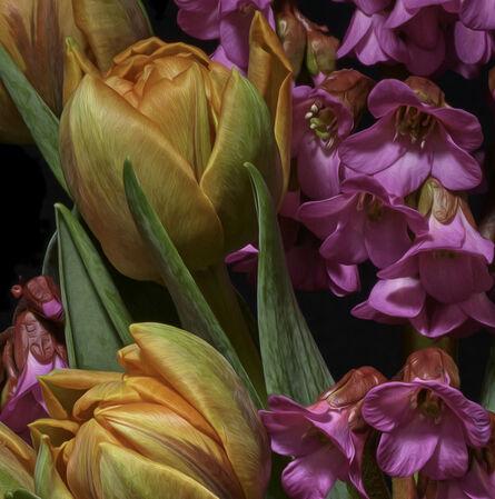 T.M. Glass, 'Azaleas & Tulips', 2019