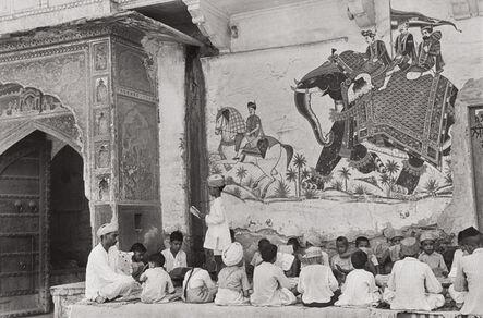 Henri Cartier-Bresson, 'Pavement School, Jaipur, India', 1948
