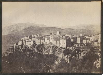 Charles Nègre, 'Village of Saint-Cezaire-sur-Siagne, France', 1852