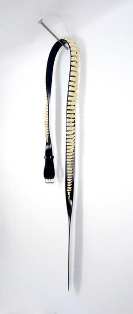 Terry Maker, 'Spineless Belt On A Nail'