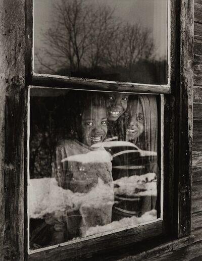Builder Levy, 'Osage Window, Osage Scotts Run, West Virginia', 1970
