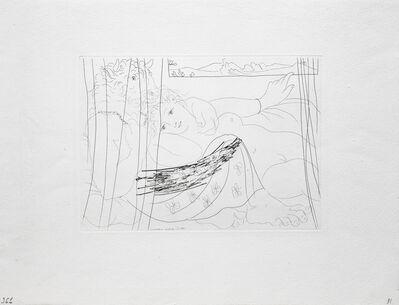 Pablo Picasso, 'Minotaure et Femme derriere un Rideau', ca. 1933