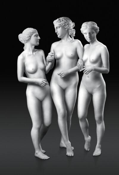 Debbie Han, 'Walking Three Graces', 2007