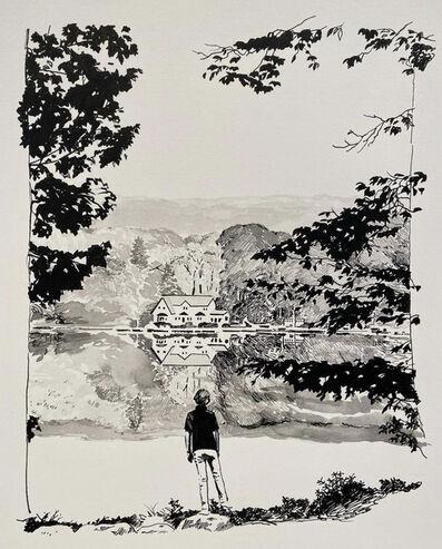 Sebastian Blanck, 'Standing at the Lake', 2021