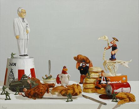 Pat Hobaugh, 'Winner, Winner, Chicken Dinner!', 2014