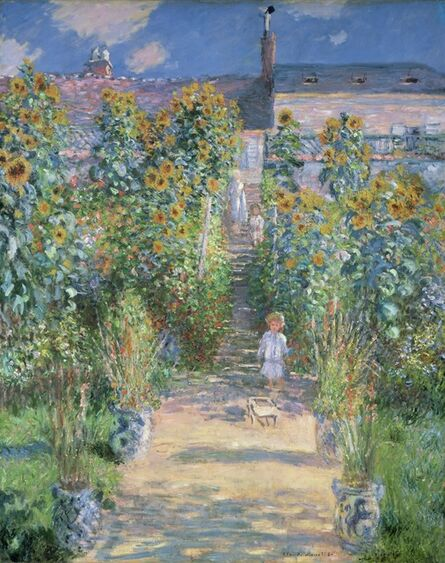 Claude Monet, 'The Artist's Garden at Vétheuil', 1880