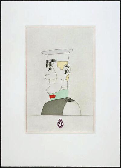 Saul Steinberg, 'Gogol I', 1984