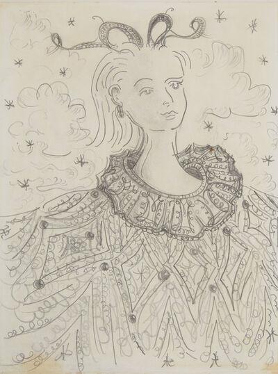 George Condo, 'Untitled Portrait', circa 1983