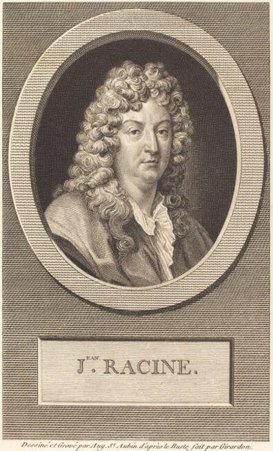 Augustin de Saint-Aubin, 'Jean Racine', 1806