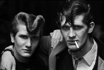 Chris Steele Perkins, 'Brothers, Red Deer, Croydon, from the series The Teds', 1976