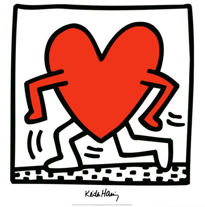 Keith Haring, 'Untitled (1984)', 1988