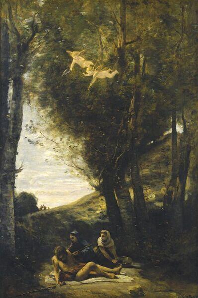 Jean-Baptiste-Camille Corot, 'Saint Sebastian Succored by the Holy Women', 1874