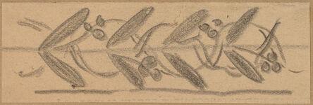 Charles Sprague Pearce, 'Study for a Border Design', 1890/1897