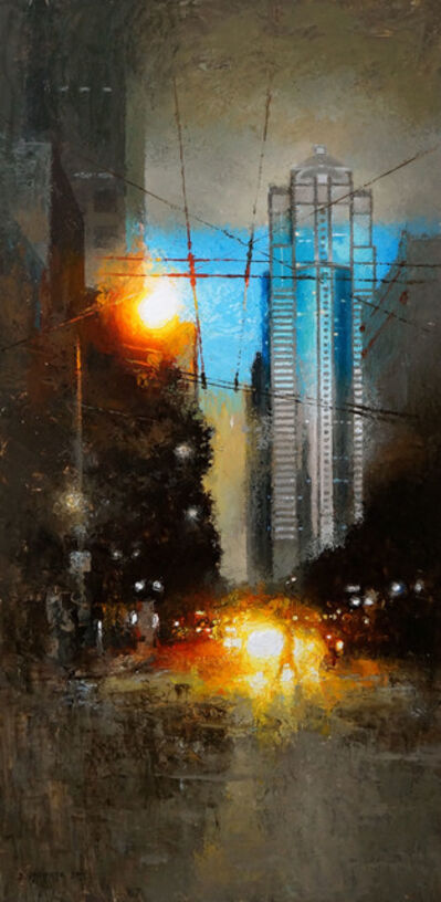 David Cheifetz, 'Sparks on Third', 2014