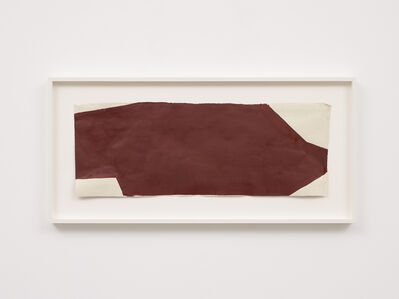 Suzan Frecon, 'Dark red composition', 2013